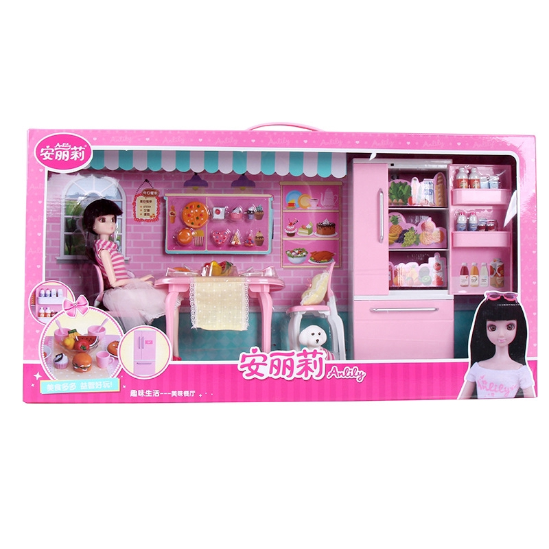 Set Mainan Barbie Dapur Rumah Boneka Barbie Shopee Indonesia