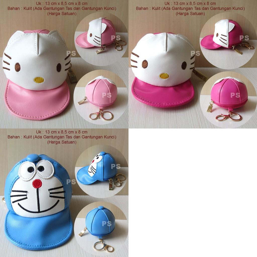 Hello Kitty Dompet Koin Kaleng Shopee Indonesia Silicon New