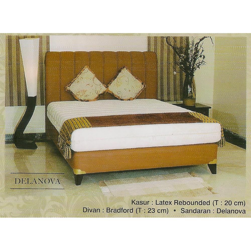 Luarkota Kasur Springbed 90x200 Spring Bed Uniland Standard Paradise Plushtop Dakota 100x200 Tanpa Divan Sandaran Jadebotabek Only Saja Matras Mattress Biru Shopee Indonesia