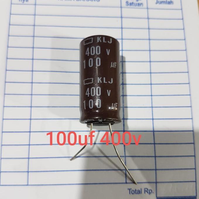 Elko Elco 100Uf 400V 100 Uf 400 Volt 400Volt