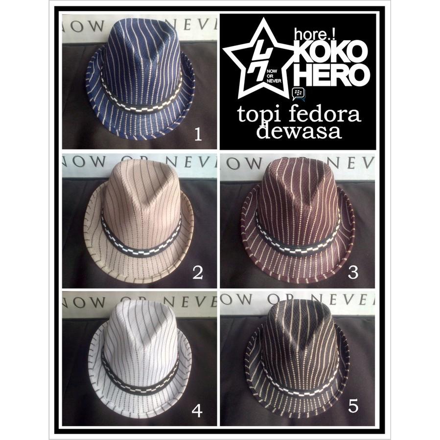 Topi Cowboy Dewasa Semi Kulit Tebal Suede Jazz fedora Western Hat Hats  de254c9a7a