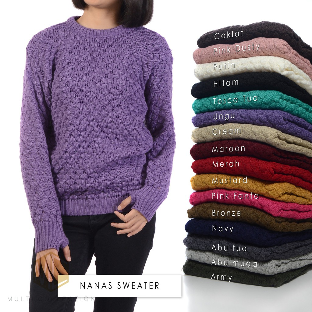 Women Winter Thick Hooded Cardigans Sweaters Fleece Warm Solid Loose Knitted Coat Long Sleeve Knitwe   Shopee Indonesia