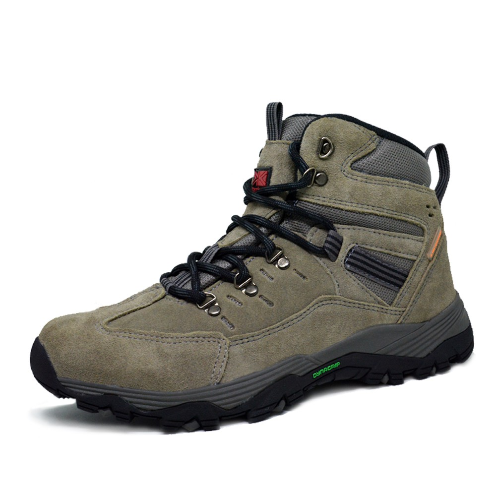 e47a43db286 Sepatu Hiking Gunung Boot Anti Air Merk Karrimor Stark Warna Abu Abu