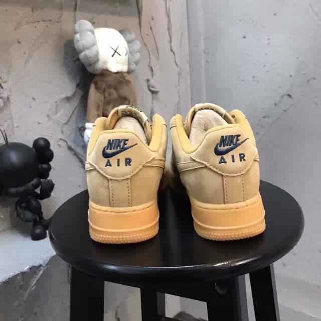 sepatu model nike air force 1 low af1 bahan kulit warna