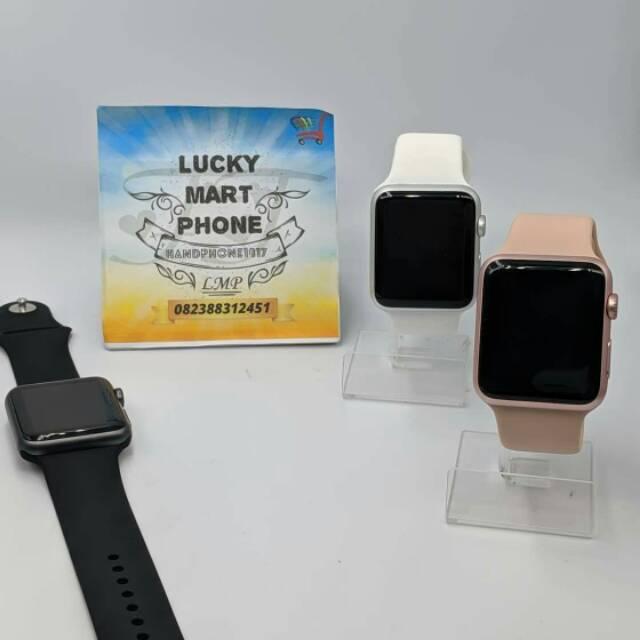 Apple Watch 7000 Gen 1 38mm Dan 42mm Fullset Oem Original Second Like New Shopee Indonesia