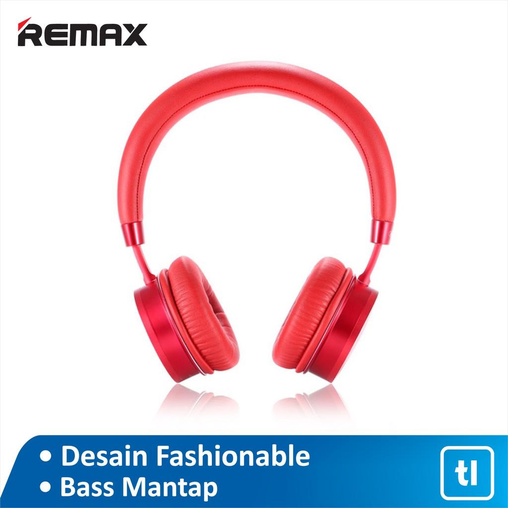 Headphone Bluetooth Remax Wearing RB-520HB Original Resmi/ Headphone Bluetooth Murah