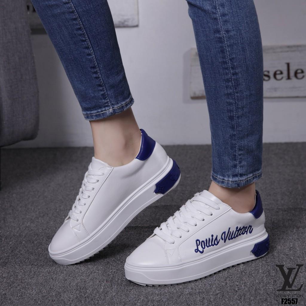 f4e5300e170 Sepatu LOUIS VUITTON Sneakers shoes F2557 TI 15 impor batam reseller murah  wedges sport cantik