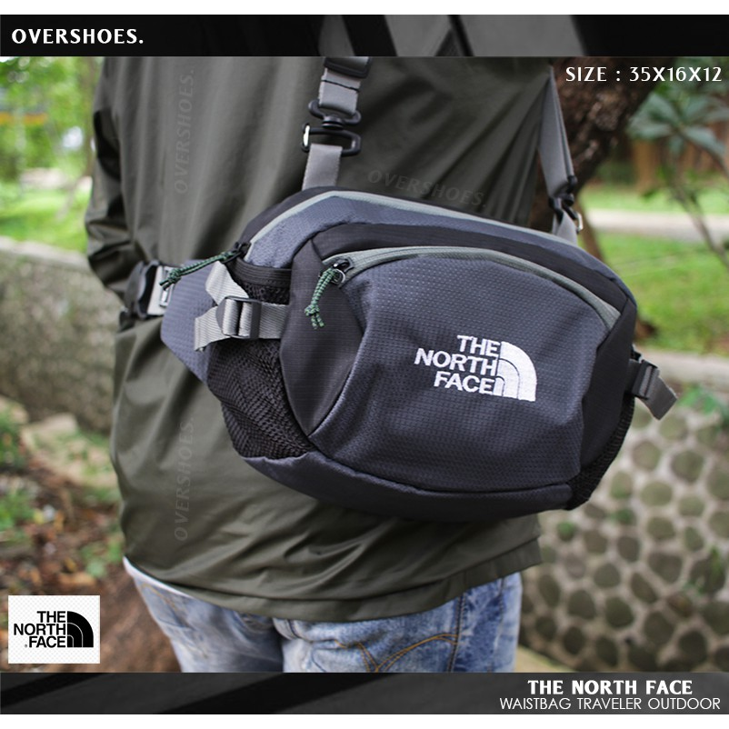 Kantong Tas Selempang Pria Pria Murah Waistbag The North Face Sling Bag Original Waist Bag Shopee Indonesia