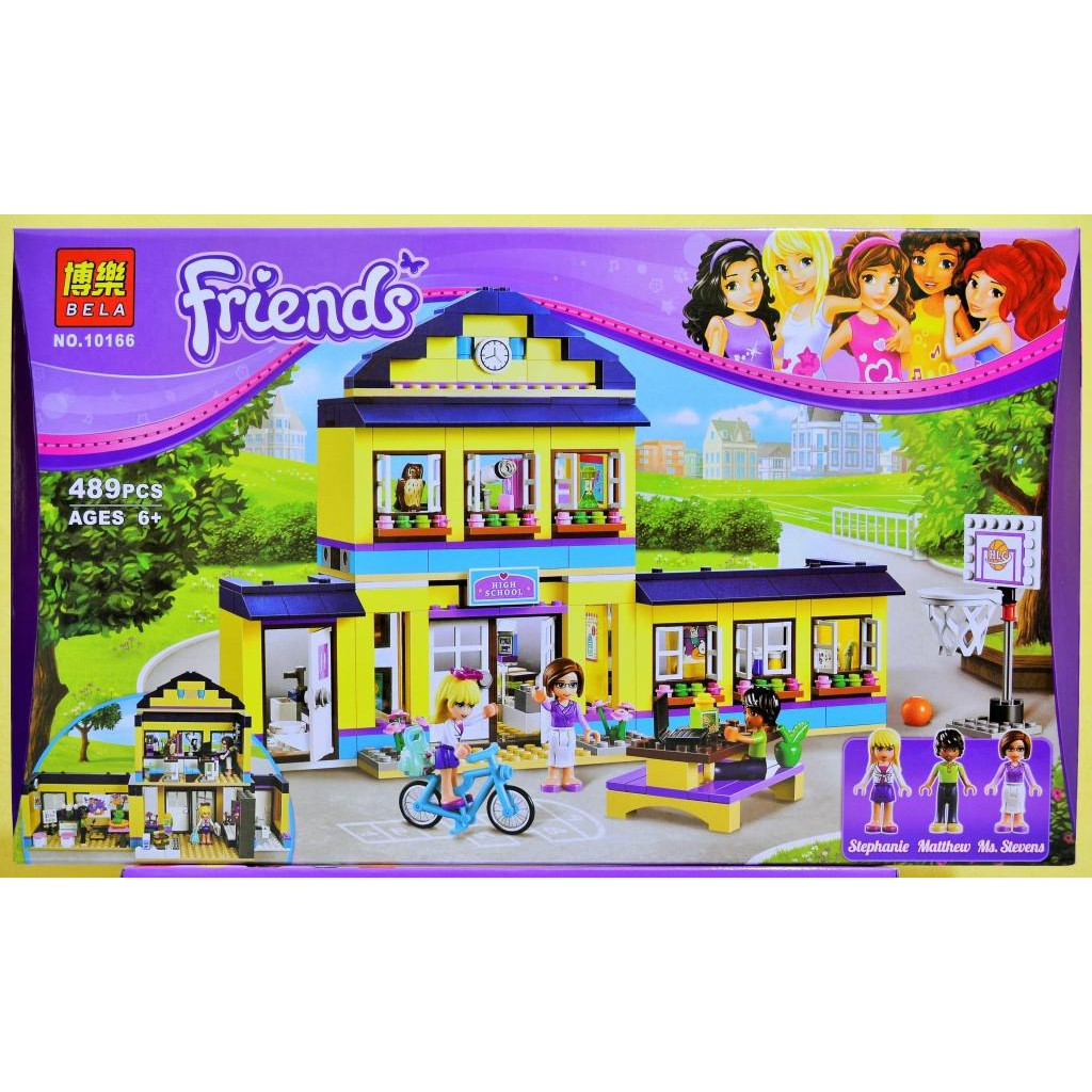 Caroltoys Lego Bela Friends 10759 376pcs Friends Heartlake Dessert
