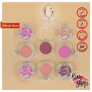 Madame GIE Sweet Cheek Blushed - Blush On BPOM Original 01, BPOM NA 11191205578 03, BPOM NA 11191205 thumbnail