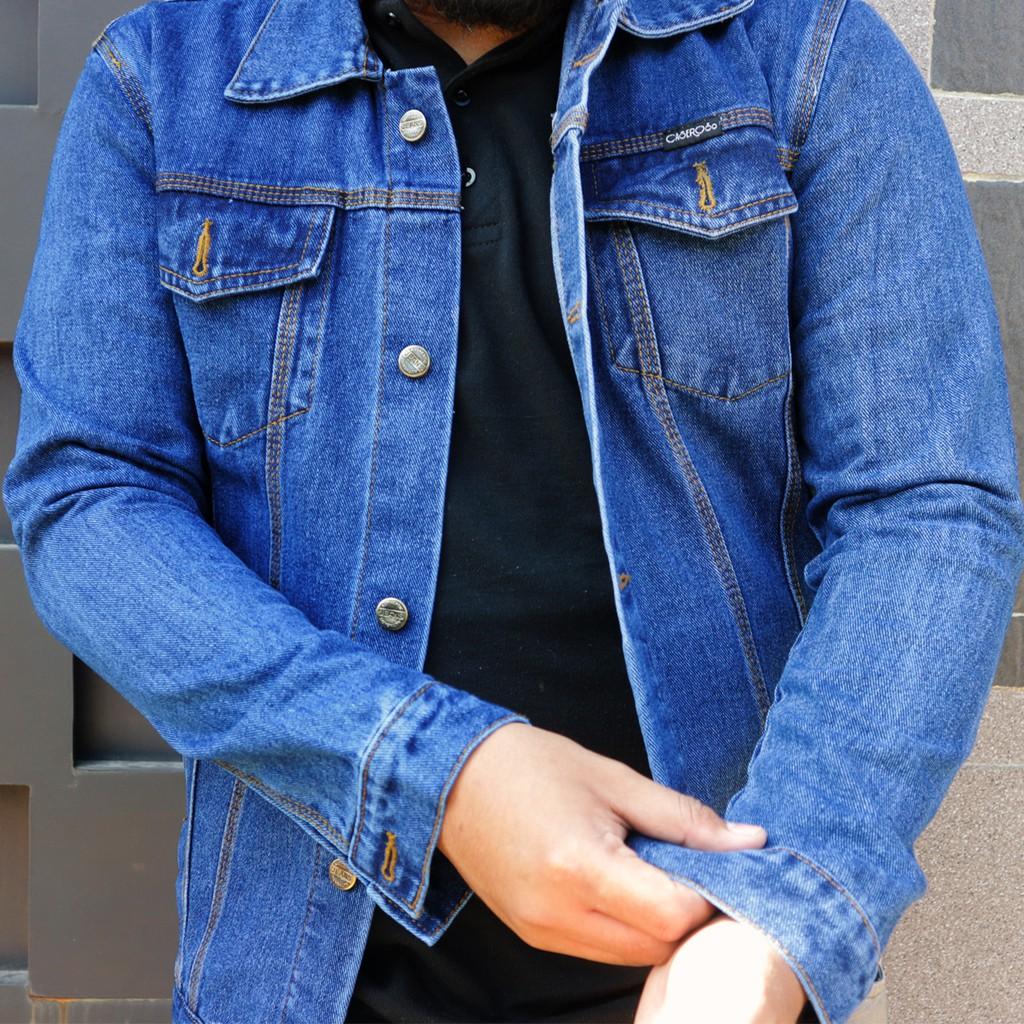 Jaket Harakiri Finger Biru Shopee Indonesia Korea Style Abu