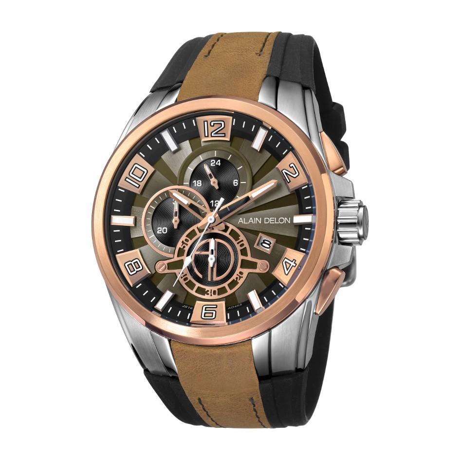 Police Chronograph Jam Tangan Pria Hitam Biru Leather Strap P327 14690jsb 12ap Coklat Ring Alain Delon Ad412 1331c Silver Shopee Indonesia