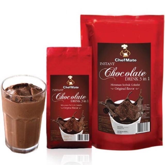 Bubuk coklat Chefmate choco drink 500gr   Shopee Indonesia