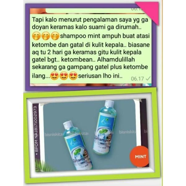 Batrisyia Shampoo Mint Atasi Ketombe dan Rontok-4