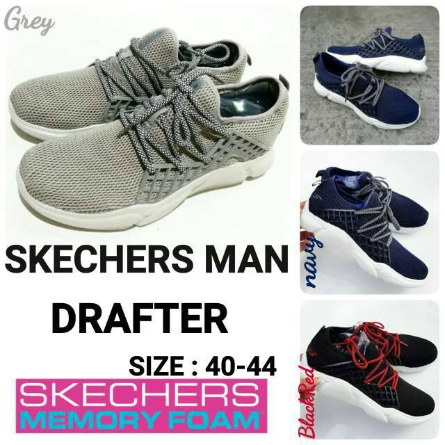 Sepatu Skecher Man Drafter size 40-45  a9e919e0d5