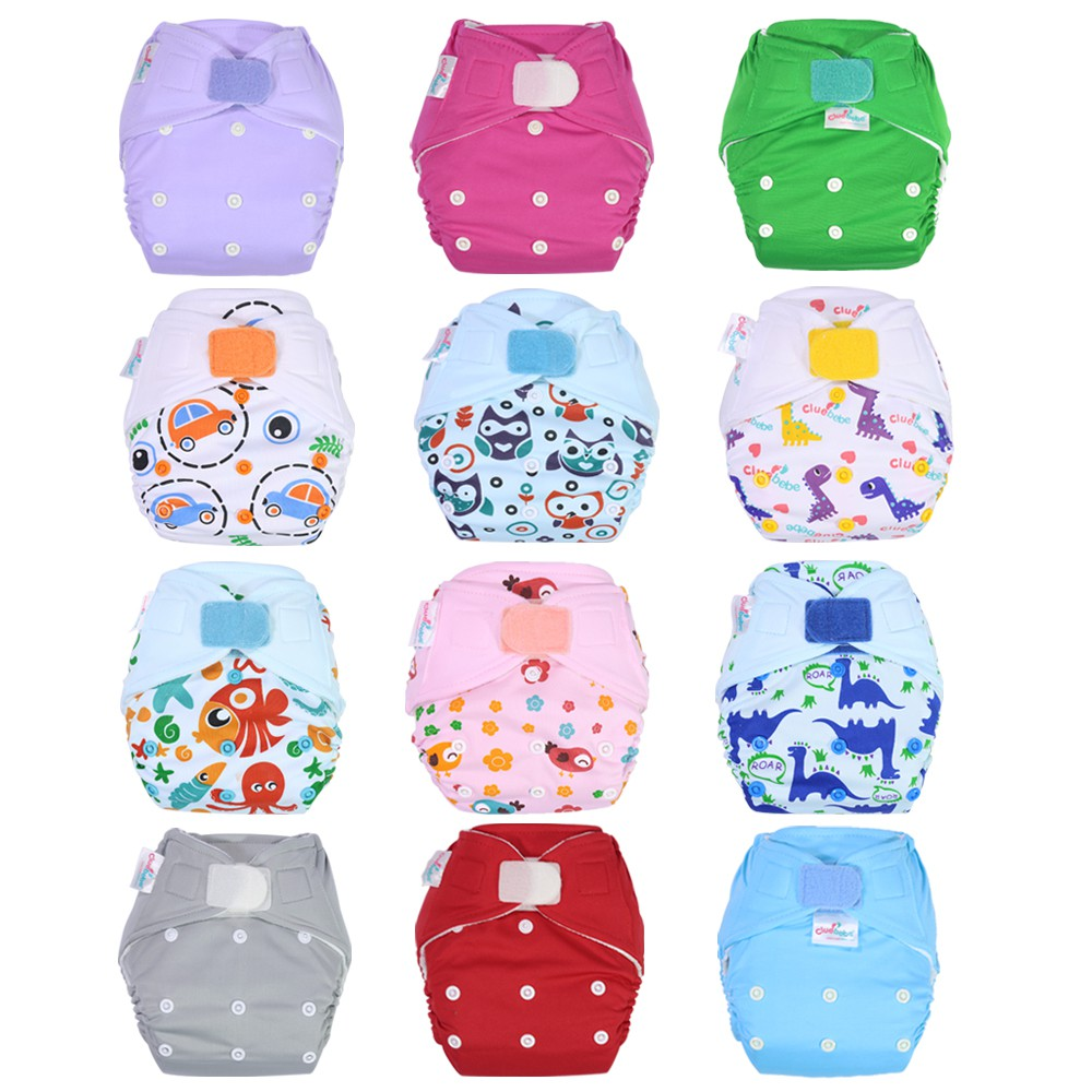 Cluebebe Pocket Classic Clodi Cloth Diaper Shopee Indonesia Ecobum Super Trainer Popok Kain Motif 11