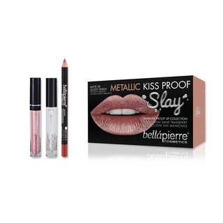 Bellapierre kiss proof lip finish 3.8ml - lip creme miami glam 2