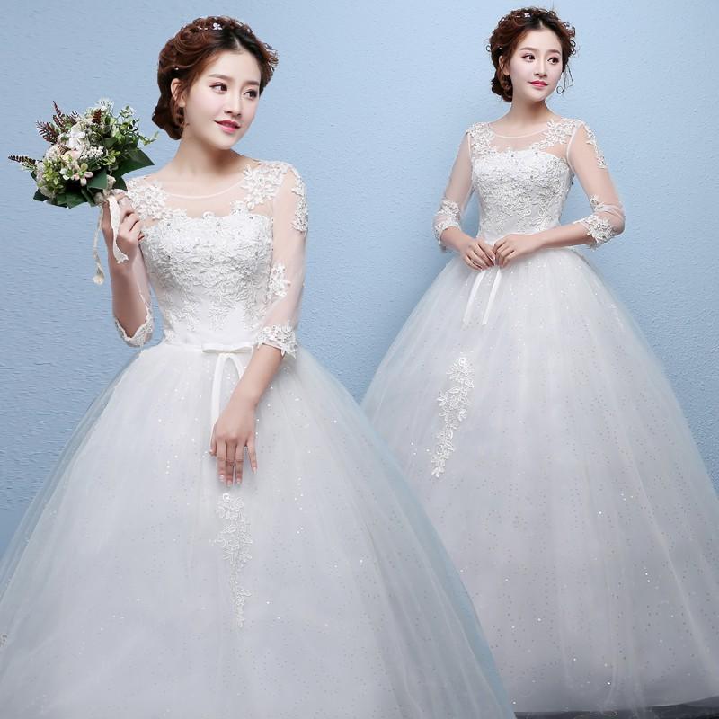 1706033 Putih Gaun Pengantin Wedding Gown Wedding Dress | Shopee Indonesia