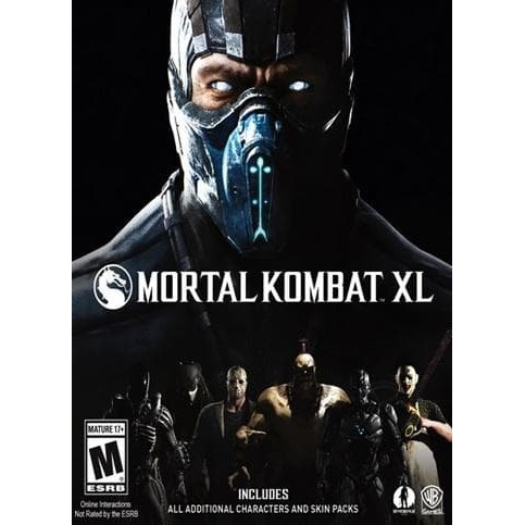 Mortal Kombat Xl Mkx All Dlcs Game Pc Pc Games Shopee Indonesia