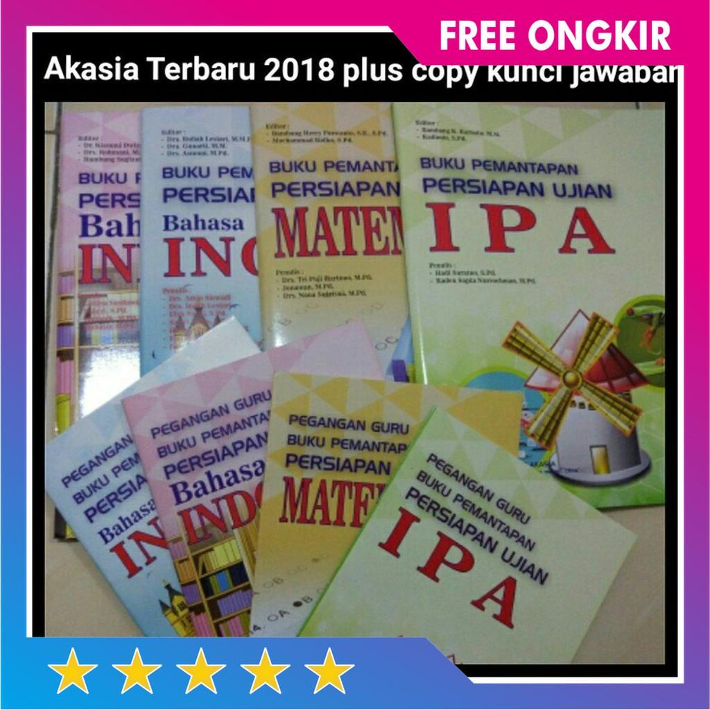 Laris New Buku Akasia Pemantapan Un Smp 2017 Plus Copy Kunci Jawaban Limited Shopee Indonesia