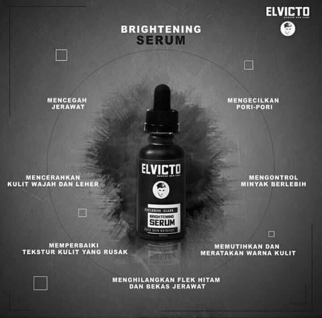 Skincare Pria Serum Pemutih Wajah Obat Penghilang Bekas Jerawat Elvicto Original 8 Shopee Indonesia