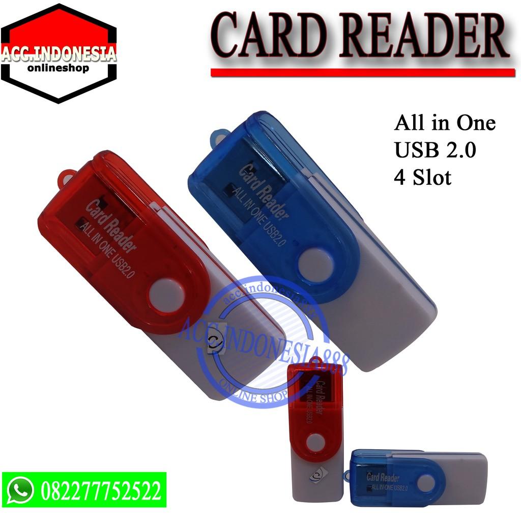 Promo Belanja Reader Online Agustus 2018 Shopee Indonesia Card Usb Votre 4 Slot