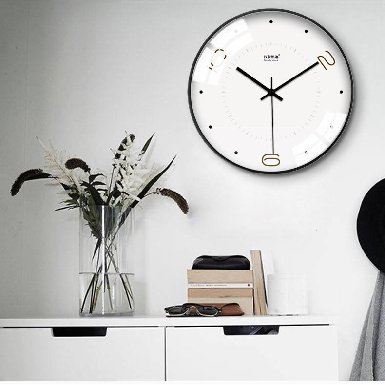 Jam Dinding Quartz Modern Minimalis Untuk Ruang Tamu Kamar Tidur