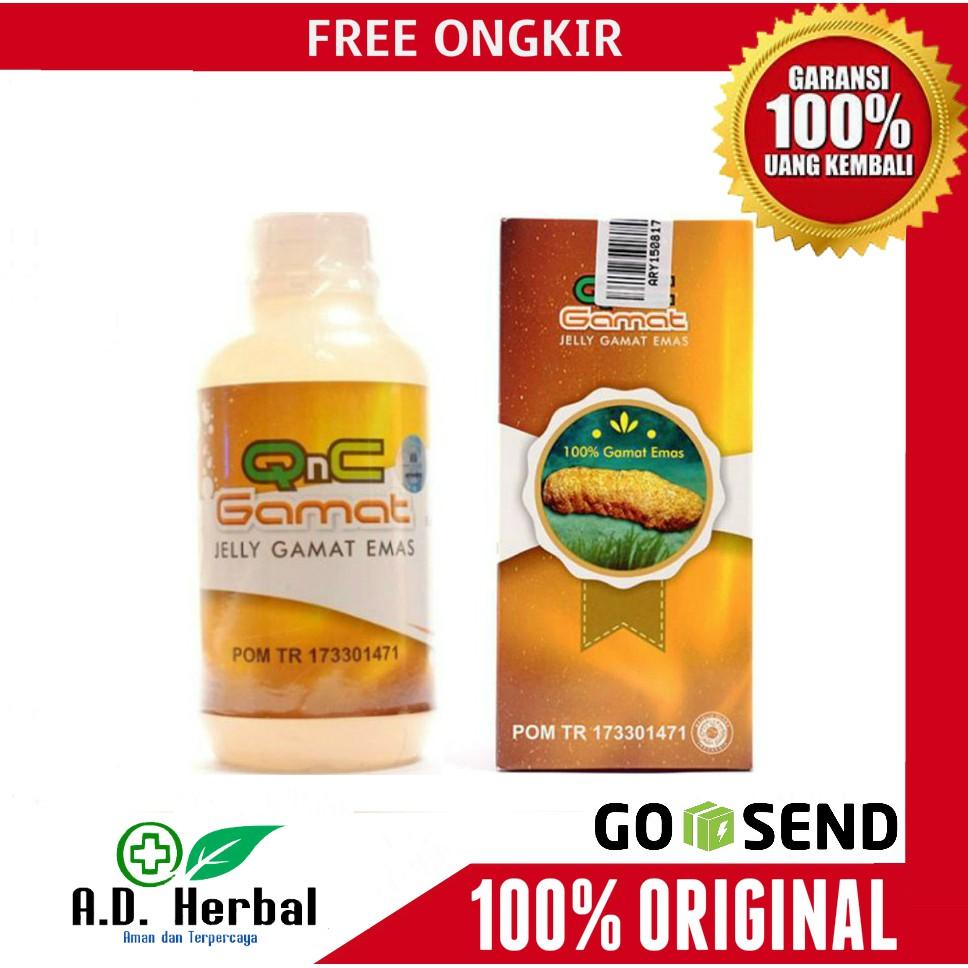 Qnc Jelly Gamat Asli Gold Luxor Distributor Utama Kota Bekasi J Shopee Indonesia