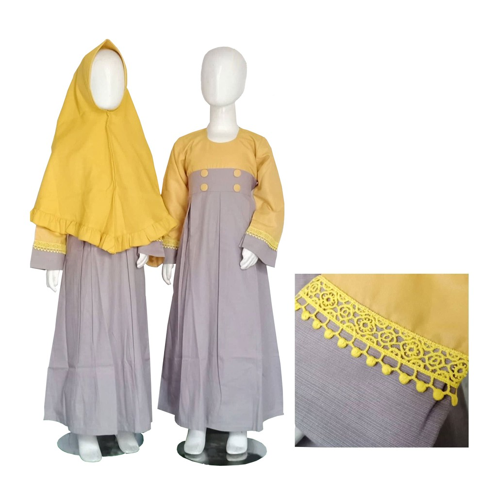 Gamis Anak Baozita Ultimate Series by Mamanda