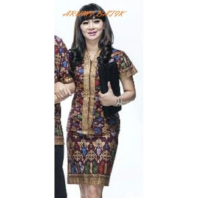 blouse+batik+ +kebaya+atasan+batik+pakaian+wanita+bawahan+batik - Temukan  Harga dan Penawaran Online Terbaik - Oktober 2018  389d84a91a