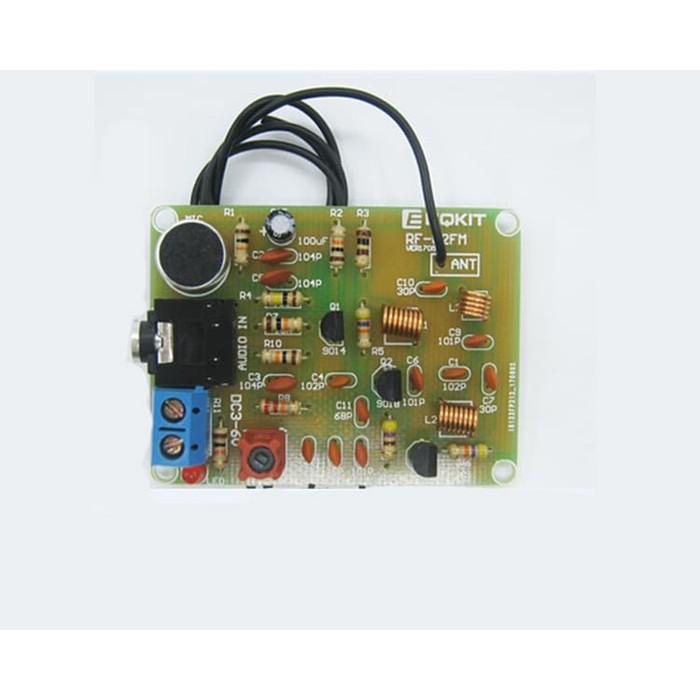 FM Wireless Microphone Suite FM Radio Transmitter DIY 1.5-9V 88-108MHz Module