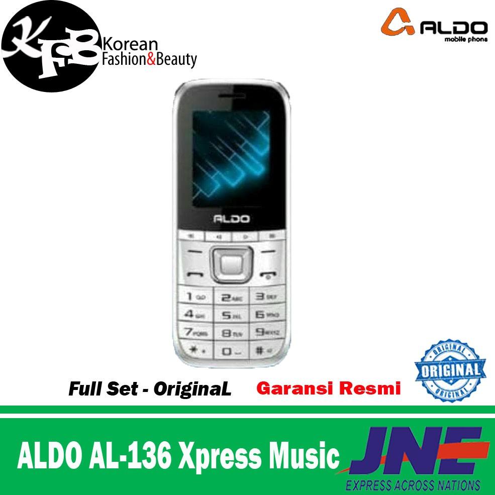 Hp Aldo Xpress Music Al136 Al 136 New Garansi Resmi Maxtron New8a Smartphone Shopee Indonesia