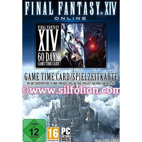 High Quality Product Final Fantasy Xiv 60 Days Game Time (Eu) Untuk Pc Ps3  Ps4 Ff Xiv