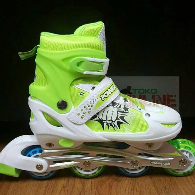 Power Sport 4000 Inline Skate Sepatu Roda 2 In 1 Adjustable Wheel ... 42d090627b