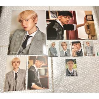 EXO 5th Album DON/'T MESS UP MY TEMPO Baekhyun Type-C Photo Card K-POP 31 40