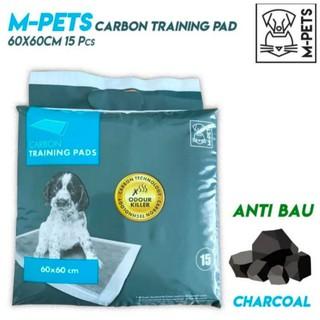 M Pets Mpets Basic Puppy Training Pads 60x60 Cm Isi 25 Lembar Perlak Anjing Shopee Indonesia