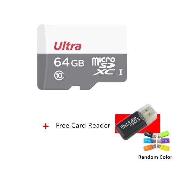 Microsd Memory Card 128GB Class10 Micro SD Card C10 64GB/256GB/512GB-Blue | Shopee Indonesia