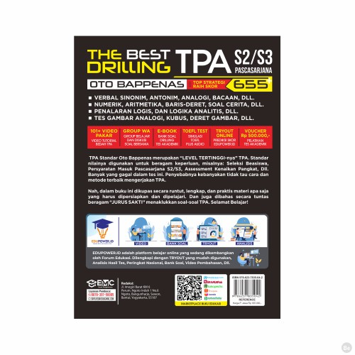 The Best Drilling Tpa Oto Bappenas S2 S3 Pascasarjana 2020 2021 Shopee Indonesia