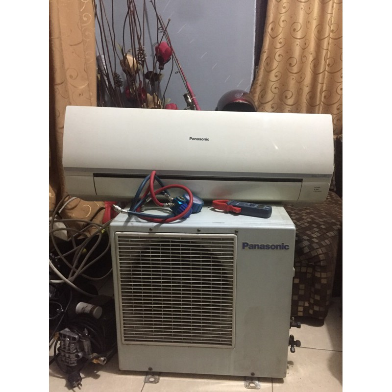 ac panasonic 1/2 Pk bekas (unit only)