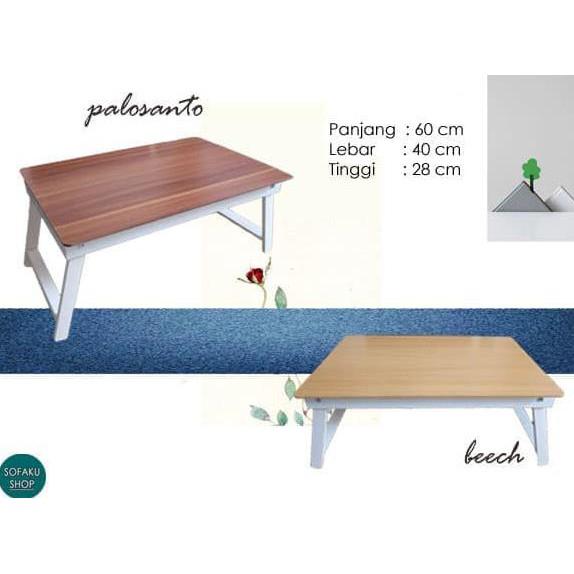 Mh515 Small Round Coffee Table Meja Ngopi Bulat Samping Sisi Megahome | Shopee Indonesia