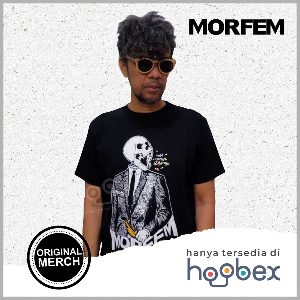 Kaos MORFEM - Hey, Tuan Botimen Original Merch