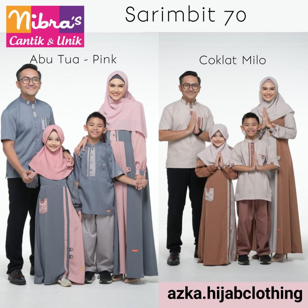 Sarimbit Nibras 70 Sarimbit Nibras 2020 Seragam Keluarga Baju Muslim Couple Keluarga Gamis Shopee Indonesia