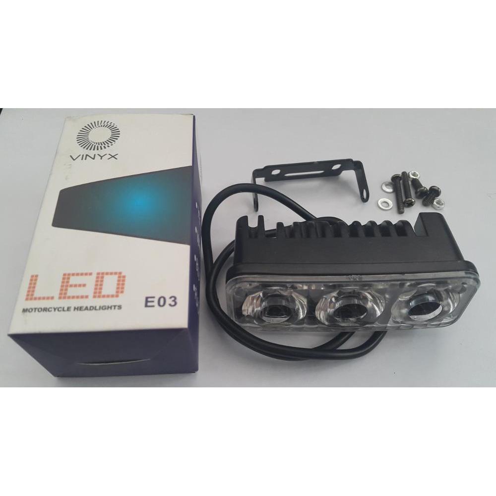 Lampu Tembak Sorot LED 40 Titik Mata Semi 6D Motor Mobil | Shopee Indonesia