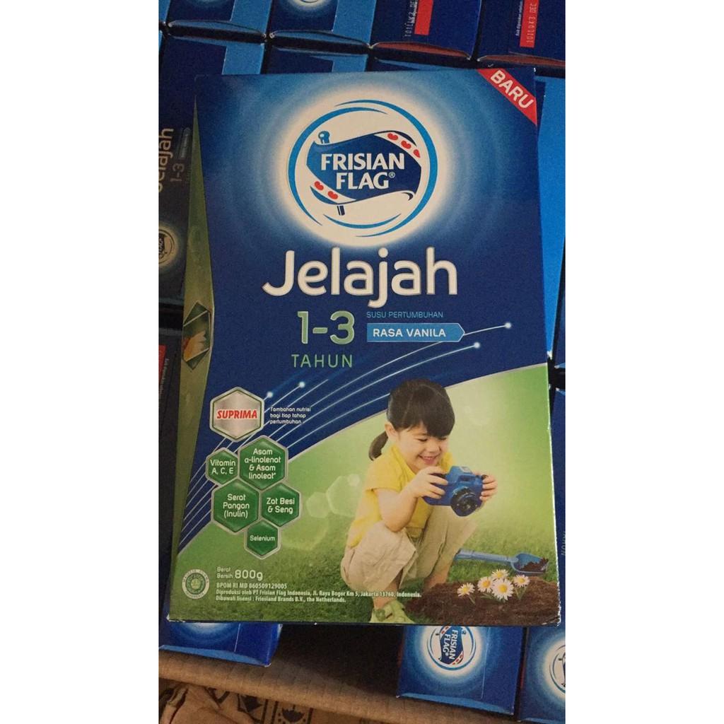 Frisian Flag Jelajah 123 800gram 800 Gr Expired Sept 2019 Karya 4 6 Tahun 800gr Madu Vanilla Coklat 80 Shopee Indonesia