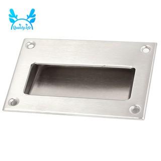 Sliding Door Handles >> Stainless Steel Recessed Flush Pull Finger Insert Sliding Door Handle
