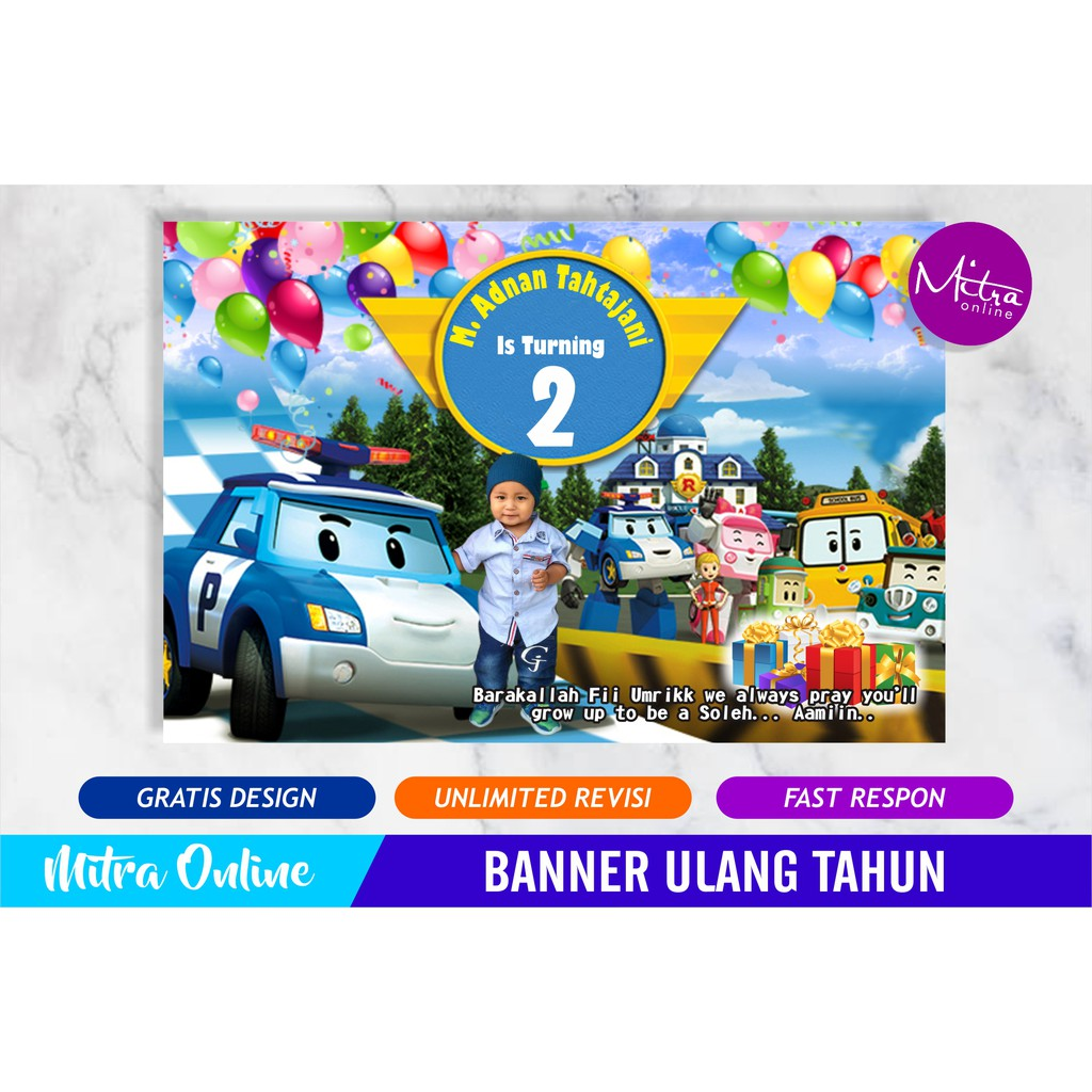Backdrop Ultah Background Wallpapper Banner Ulang Tahun Shopee Indonesia