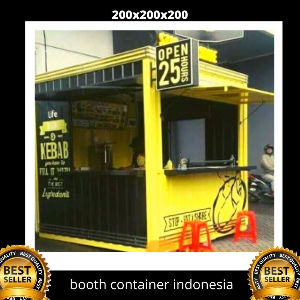 Booth Container Untuk Jualan Shopee Indonesia