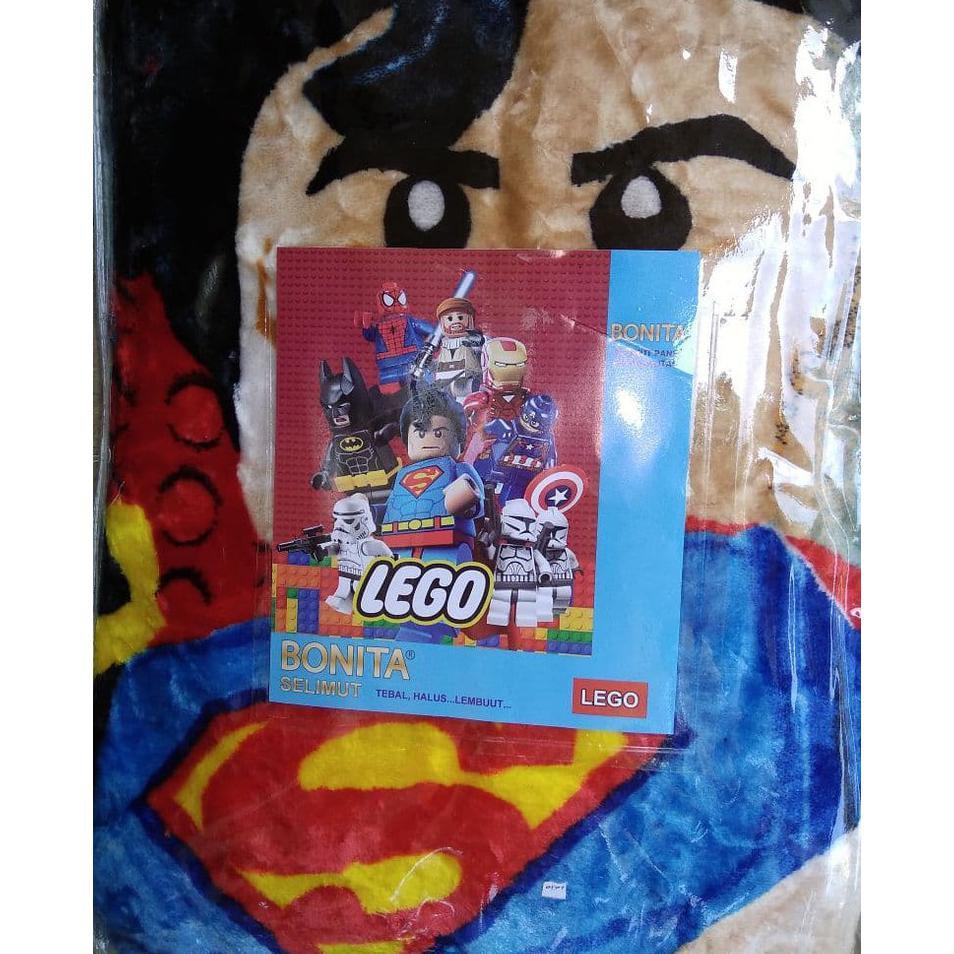 Couple Sprei Dan Selimut Super Lembut Dan Tebal Merk Bonita - THOMAS. Source · SELIMUT BONITA LEGO BLANKET SUPERMAN BATMAN SPIDERMAN JEDI IRON MAN CAPTAIN ...