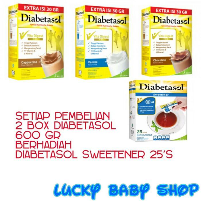 Diabetasol Cappuccino 650 g