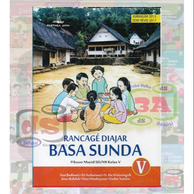 Buku Bahasa Sunda Kelas 5 Sd Rancage Diajar Basa Sunda K2013 Edisi Revisi 2017 Shopee Indonesia